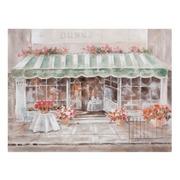 Pintura Restaurant sobre Lienzo 3 x 120 x 90 cm