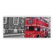 Cuadro Bus de Londres 1,6 x 121,9 x 53,3 cm
