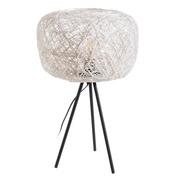 Lámpara de Mesa en Cuerda de Papel 30 x 30 x 50 cm