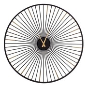 Reloj de Pared Negro 4 x 65 x 65 cm