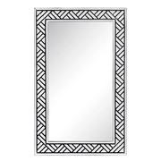 Espejo de Pared en Hierro 1,5 x 53,5 x 86 cm