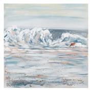 Pintura Mar Sobre Lienzo 2,8 x 100 x 100 cm