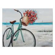 Pintura Bicicleta sobre Lienzo 3,5 x 120 x 90 cm