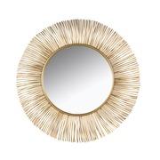 Espejo de Pared Dorado 3 x 90 x 90 cm