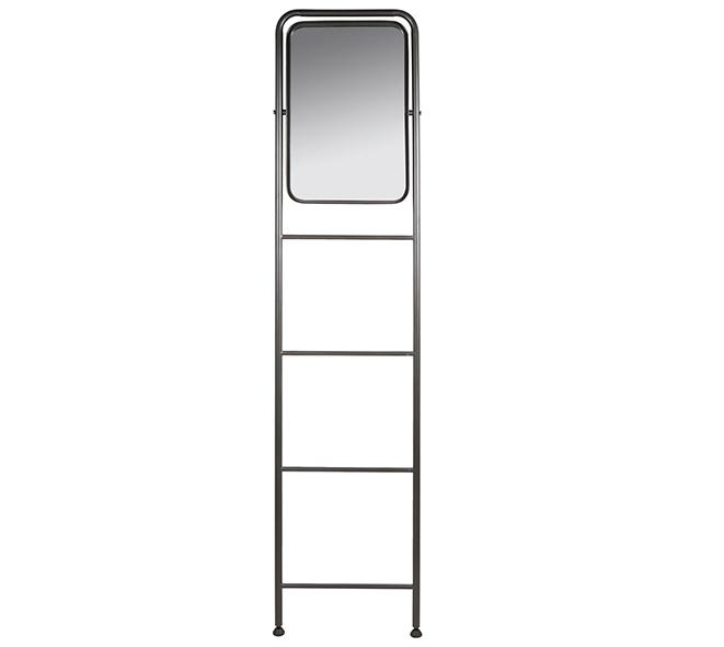 Espejo de Pie Industrial de Hierro 4 x 48 x 203 cm