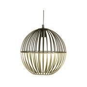 Lámpara Techo Aluminio Negro Dorado 30 x 30 x 31 cm