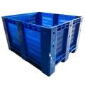 Contenedor Palox Rejillado en PEHD Azul 100 x 120 cm
