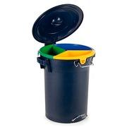 Papelera Reciclaje Hat Trick 52 Litros