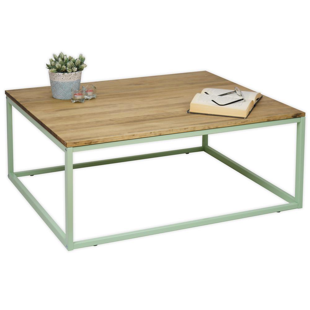 Mesa de Centro Industrial iCub Verde Limited Edition