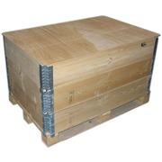 Tapa de tablero para cerchos de madera pegables