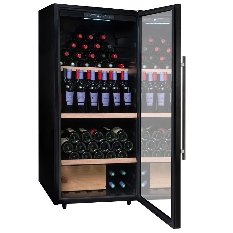 Vinoteca premium 160 botellas Climadiff CPW160B1