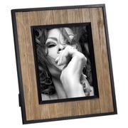 Portafotos 20x25 de Maderade Pino Negro Natural 2,3 x 31 x 33,3 cm