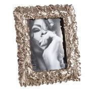 Portafotos 15x20 de Resina Plata Envejecida 3 x 25 x 29,5 cm
