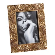 Portafotos 13x18 en Resina Color Oro Viejo 2 x 20 x 25,5 cm