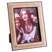 Portafotos 15x20 de Poliresina Crema 2 x 21 x 26 cm
