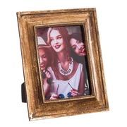 Portafotos 13x18 Poliresina Oro Viejo 2,5 x 19,5 x 24,5 cm
