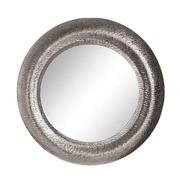 Espejo de Pared Metalico Plateado 9,5 x 54 x 54 cm