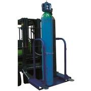 Soporte de Acero 4 Botellas para Carretilla Ref.3034-4