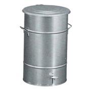 Cubo Basura 70 litros con Pedal Galvanizado Ref.9812