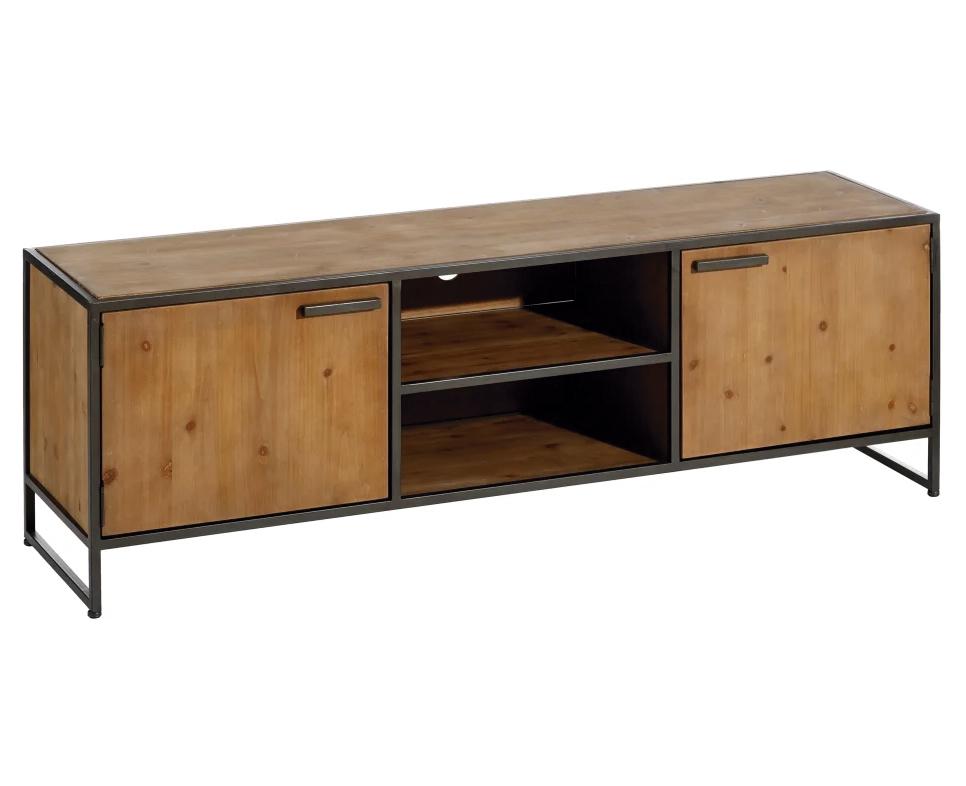 Mueble Televisión Industrial 2 Puertas  40 x 150 x 49 cm