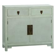 Mueble Recibidor Oriental de Madera 2 Puertas 26 x 90 x 78 cm
