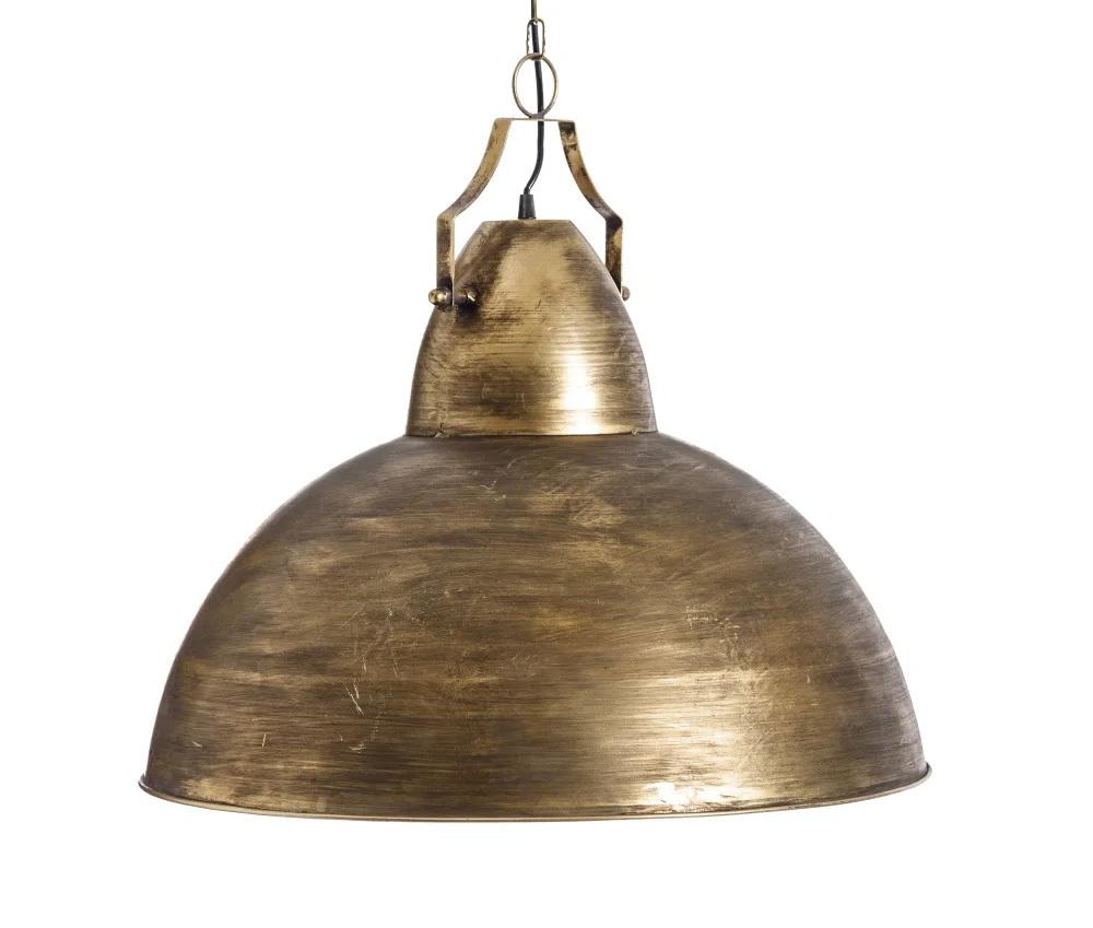 Lámpara de Techo Industrial en Hierro 60,5 x 60,5 x 42 cm