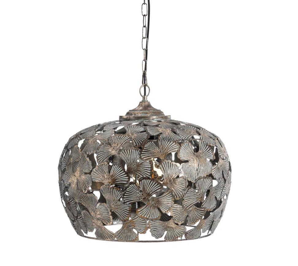Lámpara de Techo en Hierro Bronce 42,5 x 42,5 x 37 cm