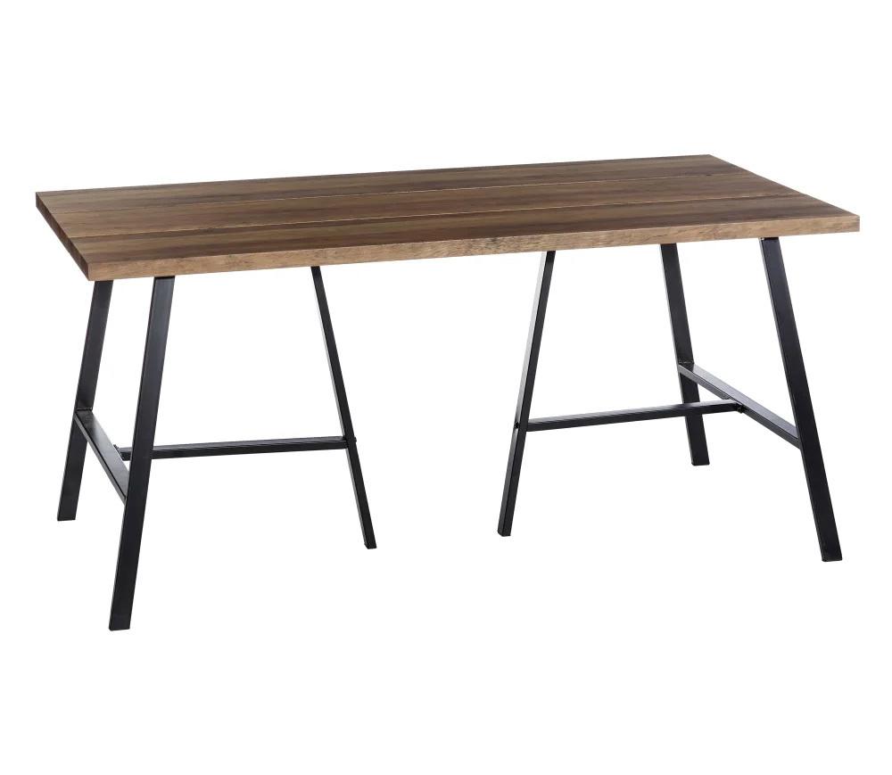 Mesa de Comedor Industrial en Madera 90 x 160 x 76 cm