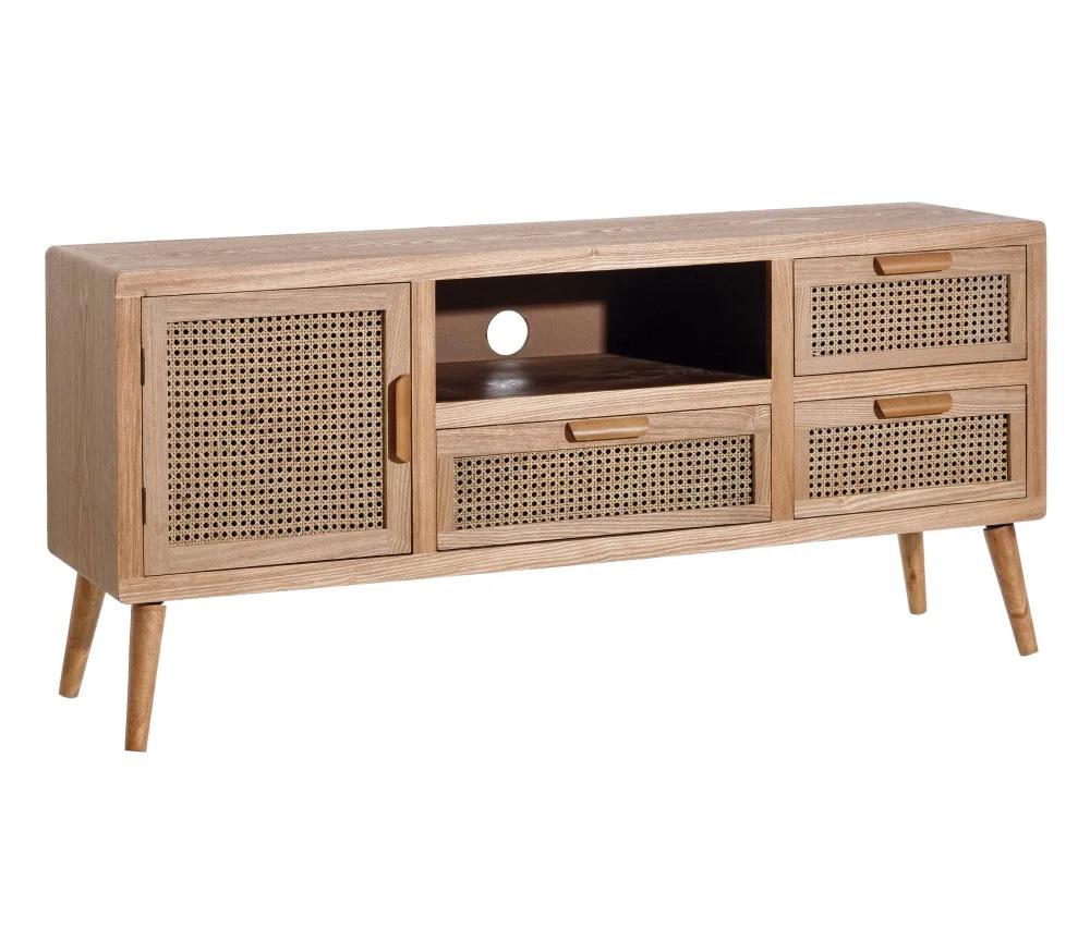 Mueble de Televisión en DM 1 Puerta 40 x 145 x 66,5 cm