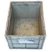Caja Plástica Galia Amarilla 297 x 396 x 214 mm