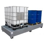 Cubeto Retencion galvanizado para 2 GRG-IBC