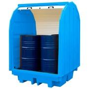Cubeto Cerrado para 4 Bidones de 200 litros