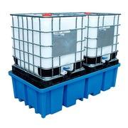 Cubeto de Retención con Rejilla para 2 GRG de 1000 litros