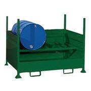 Cubeto Retenedor con Laterales para 2 Bidones 200 litros