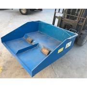 Pala Azul para Carretilla Semi Nueva 126 x 119 x 40 cm