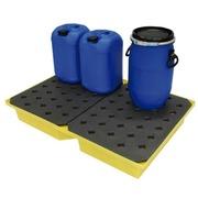 Cubeto Retención para Pequeños Envases en PE 104 litros