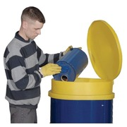 Embudo con Tapa en PE para Bidones de 200 litros