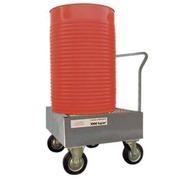 Carro Vertical de Acero para 1 Bidón de 200 litros Ref.ST1GE