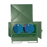 Cubeto Cerrado para 2 Bidones de 200 litros