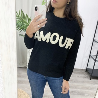 Jersey Amour Negro