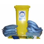 Kit Emergencia en Contenedor para Hidrocarburos 105 litros