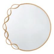 Espejo de Pared Industrial de Hierro 2 x 73,5 x 72 cm