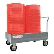 Carro Retenedor Vertical 2 Bidones de 200 litros Ref.ST2GE