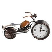 Reloj Moto Sobre Mesa de Hierro 11 x 32 x 19 cm