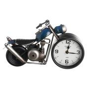 Reloj Moto Sobre Mesa en Hierro 10,5 x 32 x 18 cm
