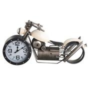 Reloj Moto Sobre Mesa en Hierro 14,5 x 50 x 25 cm