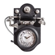 Reloj Teléfono Sobre Mesa en Hierro 11,5 x 34,5 x 40,5 cm