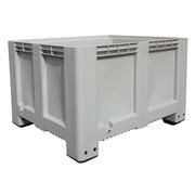 Contenedor Plástico Big Box 4 Pies Cerrado 100 x 120 x 76 cm