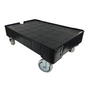 Base Rodante para Cajas con Ruedas Giratorias 40 x 60 cm