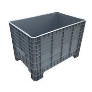 Contenedor Big Box Cerrado de HDPE 80 x 120 x 80 cm